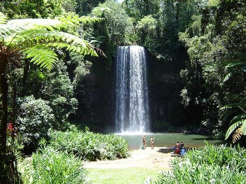 Milla Milla Falls, Queensland Australia