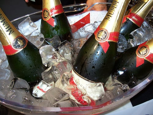 Champagne for New Year's Eve