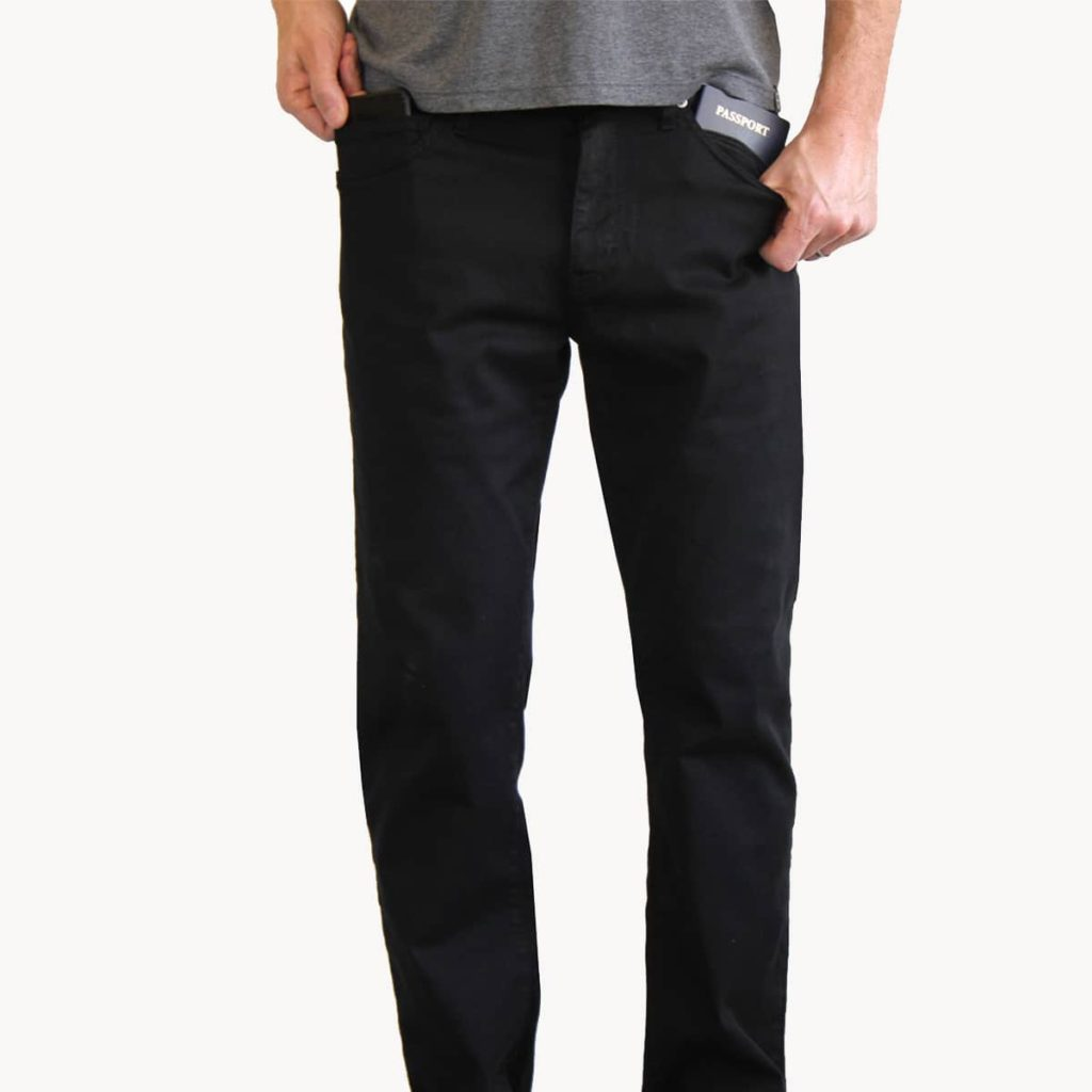 aviator mens travel pants