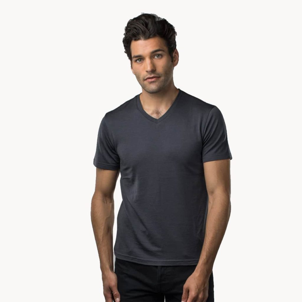 unbound merino wool top men