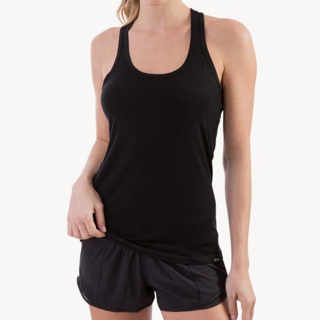 Best merino wool travel t-shirt for women; merino wool shirt for women