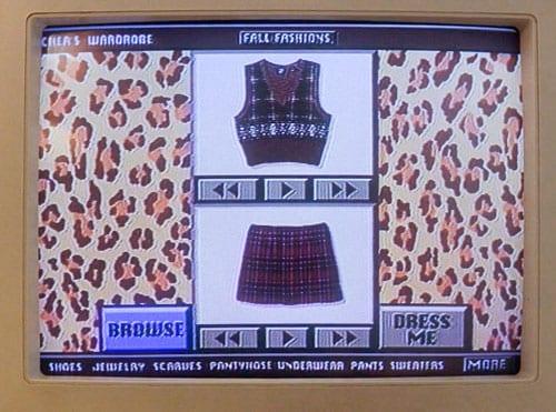 Clueless wardrobe