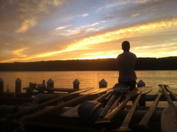paper canoe river trip