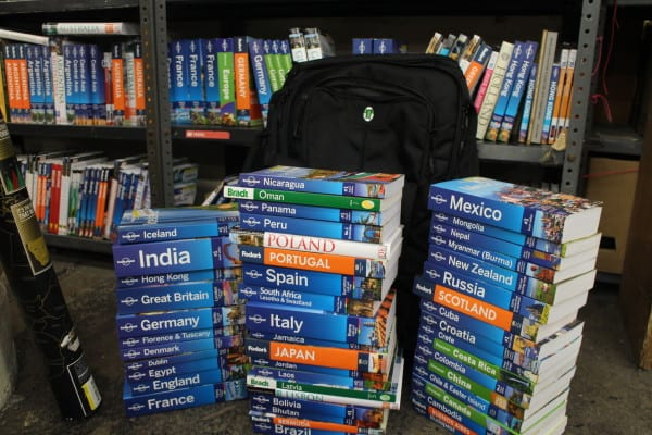 travel with Lonely Planet guide books