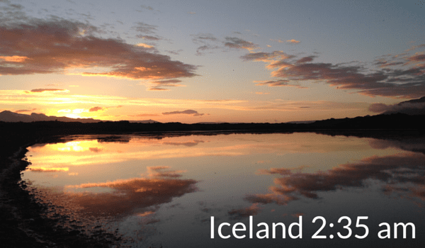 Iceland summer packing list