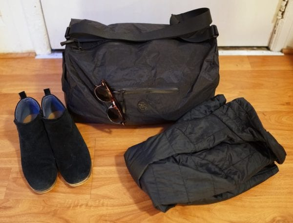 How to pack a duffle bag
