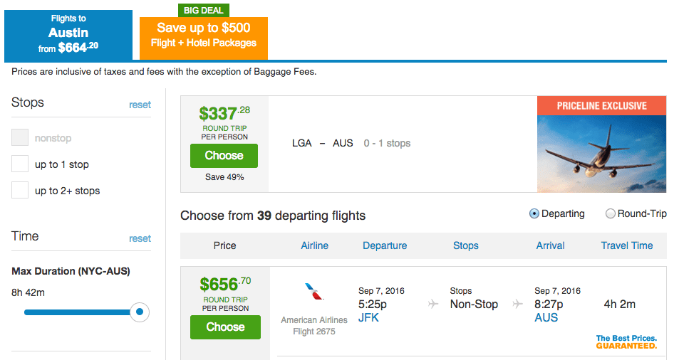 how to find last minute flight deals to anywhere