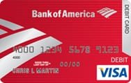 bank of america debit card travel notice