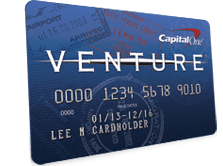 Capital One Venture Card for travel
