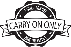 Carry on Only Pledge