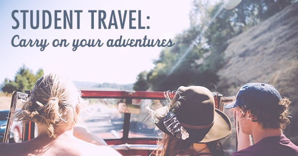 Post image for Student Travel: Carry On Your Adventures