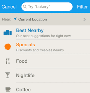 Explore Foursquare categories