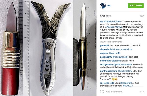 hidden knives