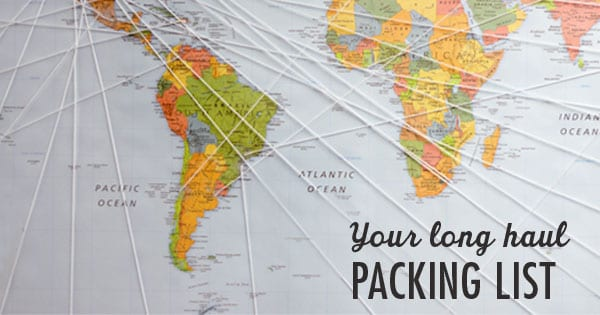Post image for 6 Months. One Carry On: Your Long Haul Packing List