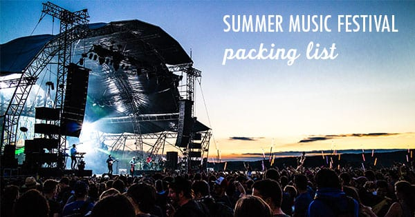 Post image for Packing for Summer Music Festivals: Video Series