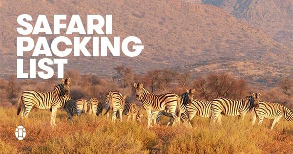 Post image for Kenya: A Safari Packing List