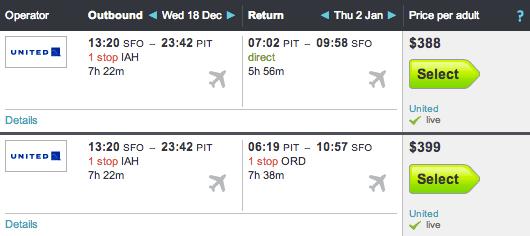 Best flight search options