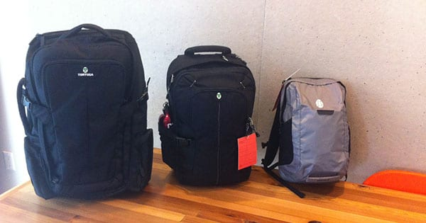Tortuga, Air, and Daypack