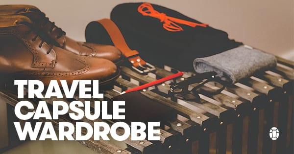 Travel capsule wardrobe example
