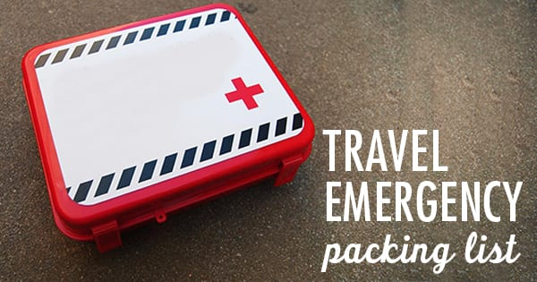 Post image for How to Pack for a Travel Emergency