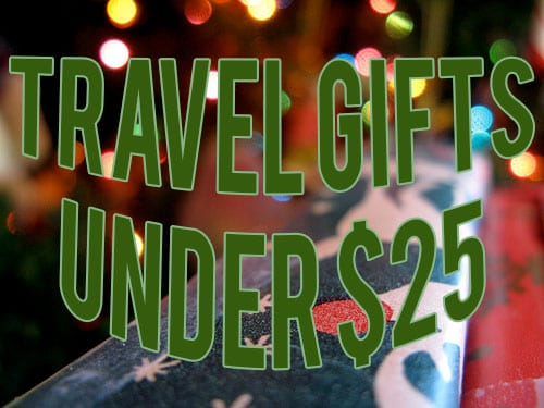 Travel Gifts Under $25