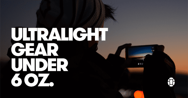 Post image for Best Gear Under 6 oz: Ultralight Travel Gear Review
