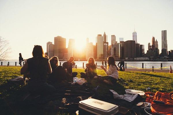 urban picnic microadventures
