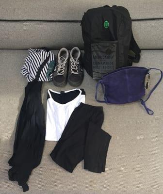 Packing ultra light