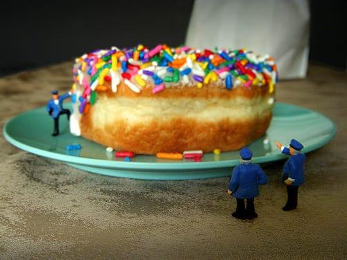 Giant doughnut