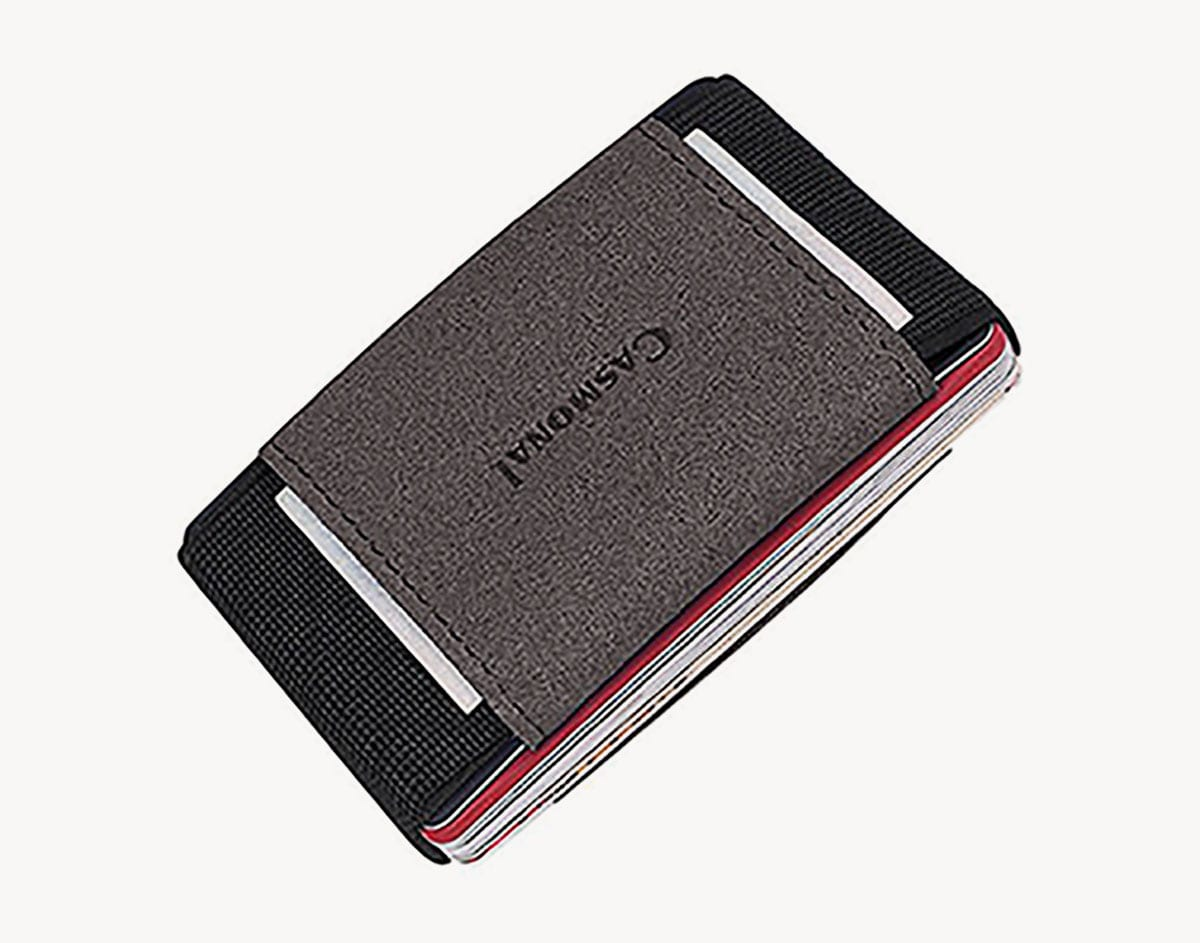 Casmonal Slim Minimalist Elastic Travel Wallet ($10)
