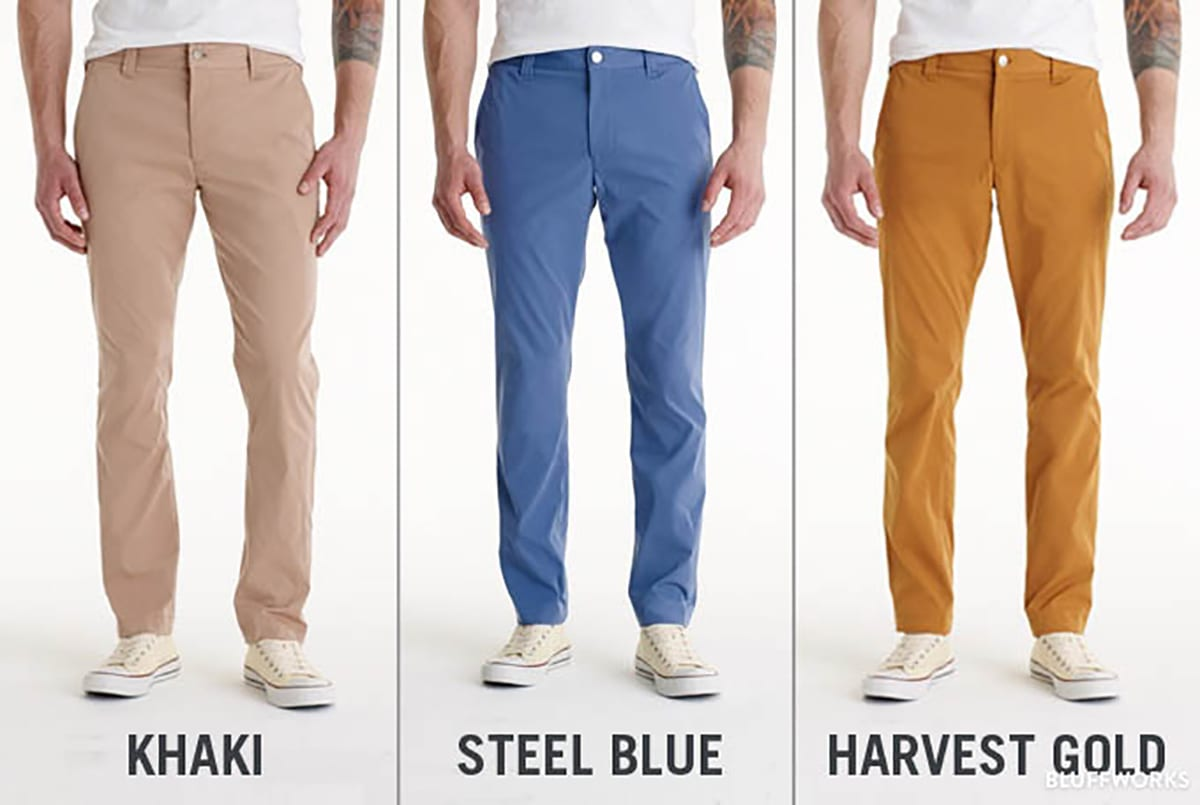 7912b1afc74 Best All Around Travel Pants  Bluffworks Tailored Fit Chino ( 98)