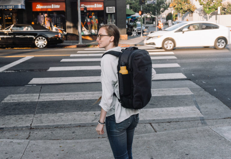 Traveling for the weekend in a Setout Divide Backpack