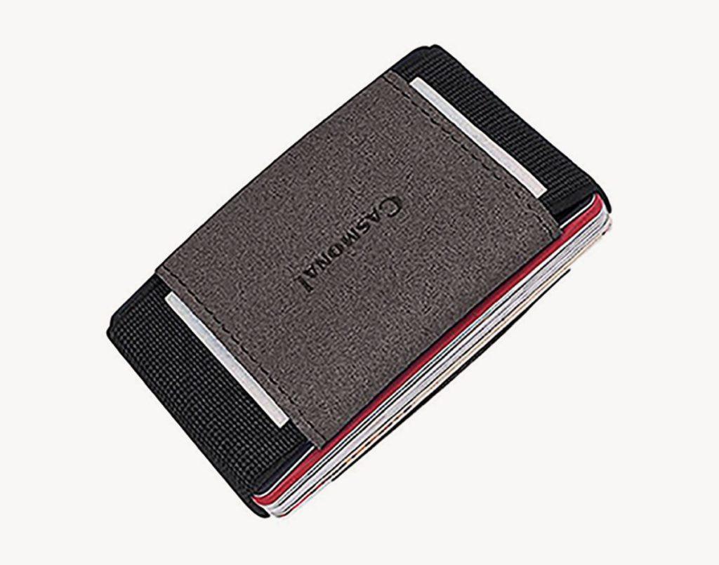 Casmonal slim minimalist elastic travel wallet review