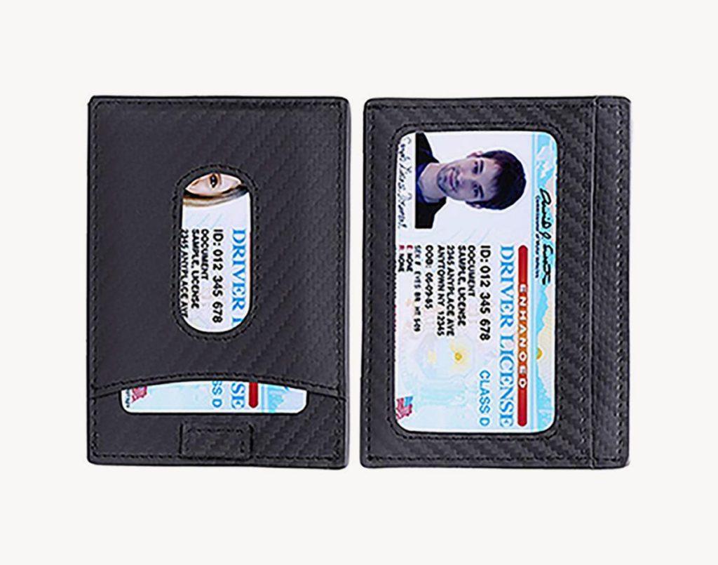 Kinzd slim front RFID blocking wallet review