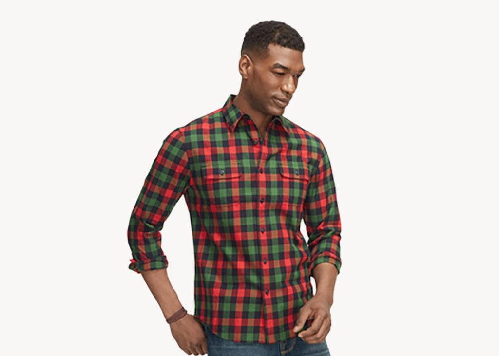 LL bean castine flannel shirt review