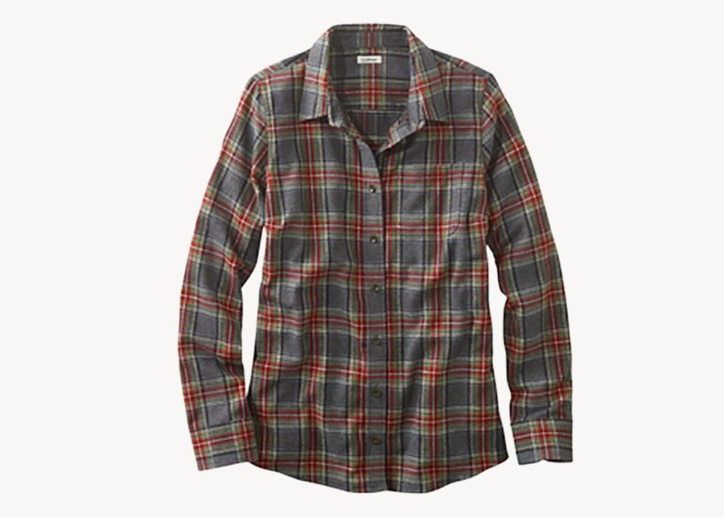 LL Bean Scotch plaid women's review
