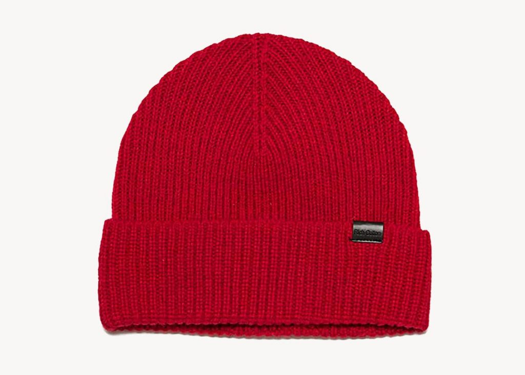 Rich cotton merino beanie