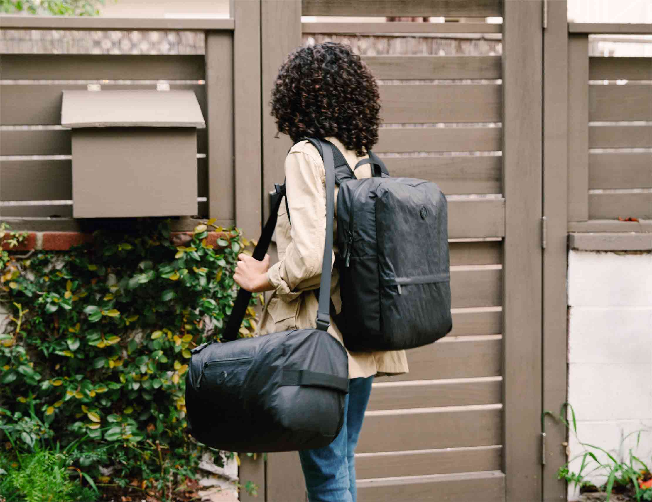 Outbreaker Duffle Bag with a backpack