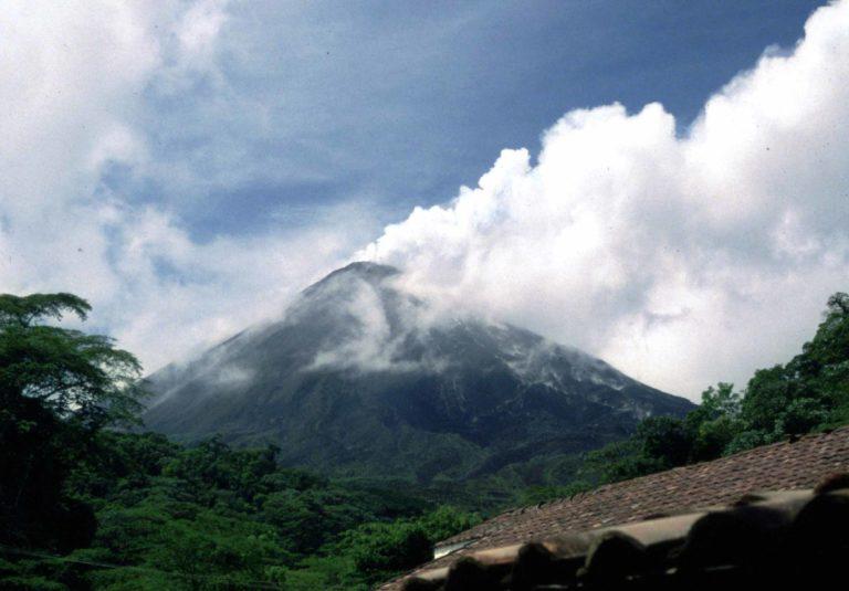 Volcano in Costa Rica