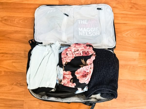 Flat packed clothing