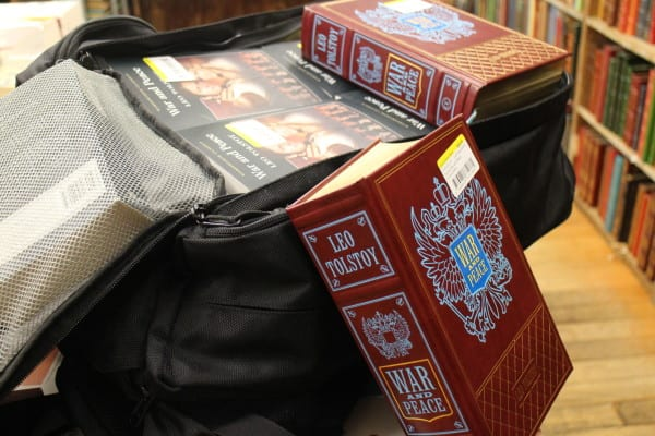carry on books