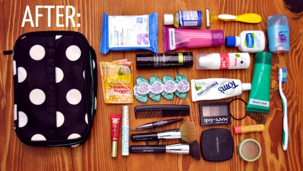 7cdaa9e8467b How to Pack Toiletries and Makeup Better