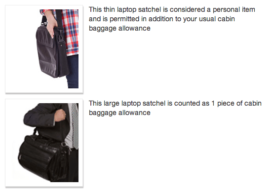 Is a Backpack a Personal Item?