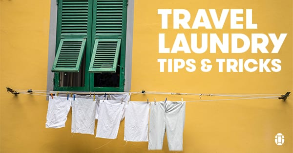 How To Do Laundry While Traveling Tortuga Backpacks Blog
