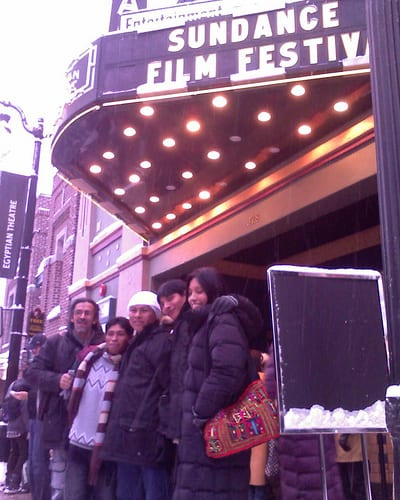 First time at the Sundance Film Festival