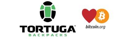 Tortuga Backpacks accepts Bitcoin